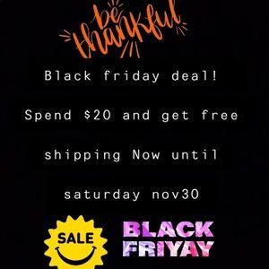 Pre Black Friday deals!!!